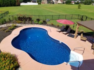 swimming pool in your backyard