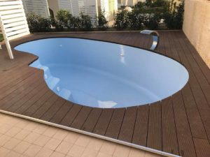 Fiberglass swimming pool kerala